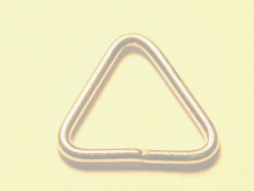10mm Sterling Silver Triangle Jump Ring Open-Findings 4 Jewellery Making .925