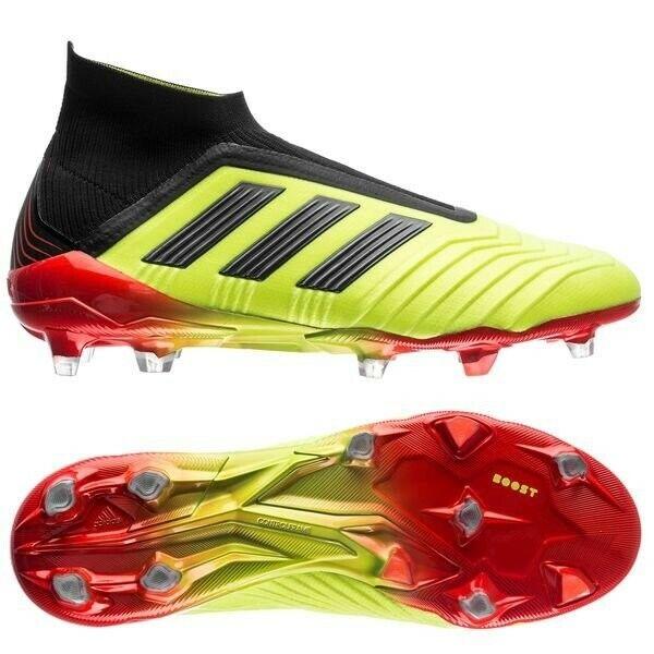Adidas Prougeator 18+ FG AG Energy Mode Solar jaune Solar rouge US 10.5 New soccer