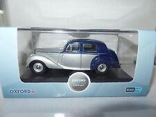 Oxford BN6004 1/43 O Scale Bentley MK VI 6 Midnight Blue Shell Grey