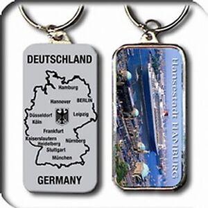 HAMBURG-Schlusselanhanger-Germany-Metall-9-5-cm-NEU