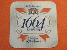 Kronenbourg Imported Beer New Beer Coaster  Beer Mat France Bière Importée