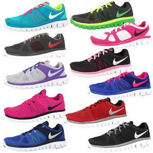 NIKE-Flex-2014-Run-GS-Scarpe-Scarpe-Da-Corsa-Sneaker-Free-Scarpe-Da-Ginnastica-Vari-Colori