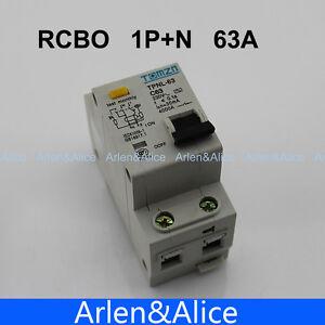 DPNL 1P+N 10A 230V~ 50HZ//60HZ Residual current Circuit breaker
