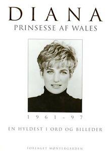 Buch-DANISCH-Prinzessin-Lady-Di-Diana-1961-1997-En-Hyldest-i-ord-og-billeder