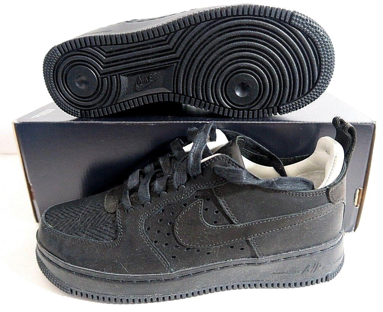 Nike Women's Air Force 1 Comfort Tech Craft Black 921072 001 Size 8  220