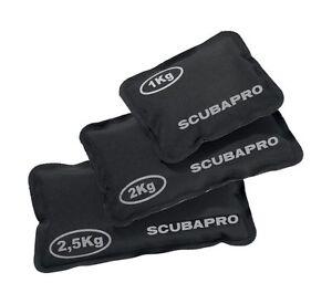 Scubapro Softbleitasche 1, 2, 2,5 kg robuster u. bruchsicherer Beutel Softblei