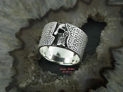 Silberring Gothic TOTENKOPFRING Tribaltattoo Totenkopf RANKE  Skull Ring 925