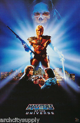 POSTER:MOVIE REPRO: MASTERS OF THE UNIVERSE - HE-MAN - FREE SHIP - #3124  RAP6 C