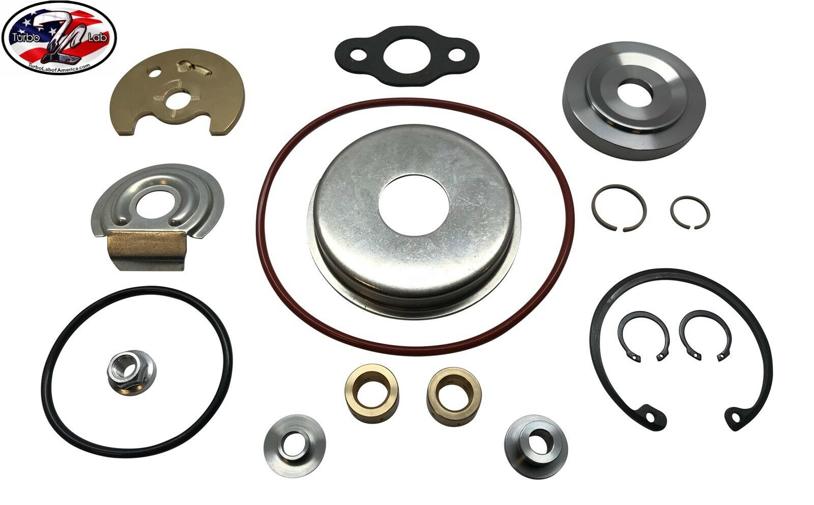49378-01570 UPGRADED Turbo Rebuild Kit FOR EVO 9 8 MHI 16G 18G 20G FP Tdo5HR BBK