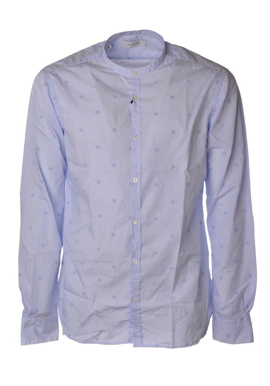 Aglini  -  Camiseta - Hombre - Azul - 3817929A180752