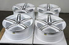 17 5x114.3 5x100 White Wheels Fits Veracruz Legacy Lexus Forester Scion XD Rims