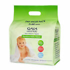 GAIA Natural Baby Bamboo Wipes 240 Pieces