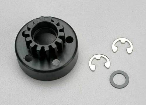 5214 Traxxas RC Car Parts Clutch Bell 14T w// Washers /& Clips Fits Revo New UK