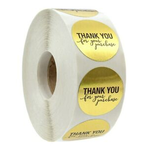 1-Inch-Round-Gold-Foil-Thank-You-For-Your-Purchase-Stickers-500-Labels-Per-4N2