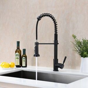 Vintage Kitchen Faucet With Sprayer Durable Pull Out Traditional