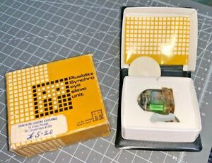 A vintage Plusblitz Synchro Eye Flash Slave Unit / Flash Trigger, Boxed, case