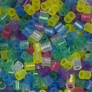 1000-Perler-Original-Glitter-Colors-Iron-on-Fuse-beads-NEW