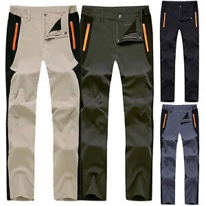 Men-Outdoor-Pants-Waterproof-Walking-Hiking-Trousers-Breathable-Combat-Workout