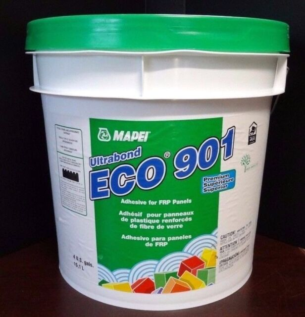 MAPEI Ultrabond Eco 901 Adhesive for Fiberglass Reinforced Plastic Panels 4  Gall