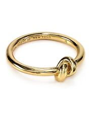 KATE SPADE NEW YORK SAILORS KNOT RING NWT GOLD SIZE 8