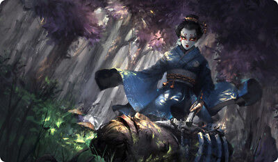 Vuong Le Legend of the Five Rings LCG CCG L5R Play Mat Kaito Kosori