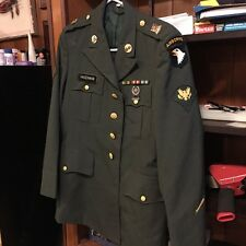 Men's US Army Poly/Wool Dress Green Jacket With Accessories