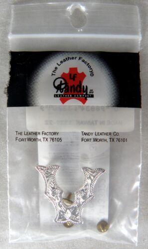 "Tandy Leather #1339-22 Screwback Alphabet Letter V Concho 3//4/"""
