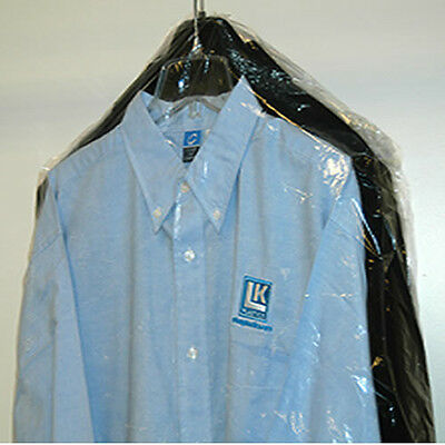 ROLL OF PLASTIC DRY CLEANER POLY GARMENT BAG (CHOOSE SIZE) CLEAR DRY CLEAN BAGS