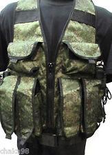Russian Army Spetsnaz TARZAN Vest Digital Flora with Belt