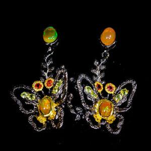 Unqiue-Jewelry-Earrings-Natural-Opal-925-Sterling-Silver-Earrings-E32169