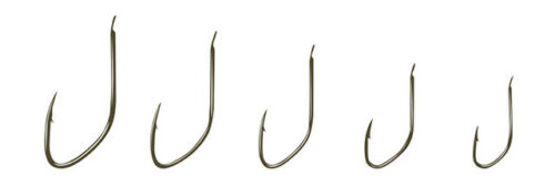 Drennan Micro Barbed Carbon Match Hooks for coarse fishing sizes 14 to 22