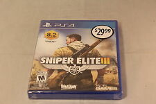 Sniper Elite 3 Playstation 4 Brand New Sealed