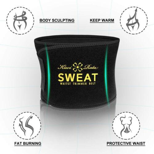 UK Men Abdomen Fat Burner Belly Compression Body Shaper Slim Waist Trainer Belt