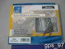 N - ESU 56899 LokSound micro V4.0 Universal Sound Programmable 8-pin NEM652 NIB