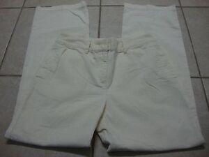 Women-039-s-J-JILL-cream-corduroy-pants-6