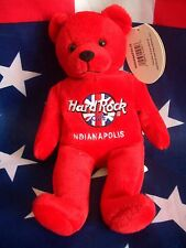 HRC Hard Rock Cafe Indianapolis Rita Bear Beara Bär Teddy Herrington