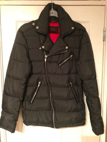 Vert Taille Kaki Quilted Mens Jacket Petit Zara xqX61awF