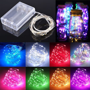 1-10-M-Battery-Powered-Copper-Wire-String-Fairy-Xmas-Party-Lights-Warm-White