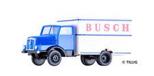 """TILLIG 19017 TT 1:120 LKW H3A """"Zirkus Busch"""" (Kofferaufbau) NEU in OVP"""