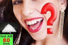 PLOMBE provisorische Zahn Reparatur DIY Füllung SOS 80 St. Granulat Fix NEU