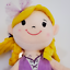 """thumbnail 9 - 15"""" Rag Doll Ballerina By Play Right Cute Soft & Cuddly Plush Doll Ages 2+ *NEW*"""