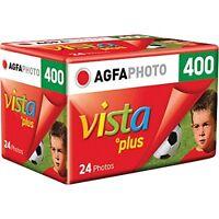 5 Rolls Agfa Vista Plus Iso 400 35mm Color Print Film 24 Exp. Agfaphoto 2018