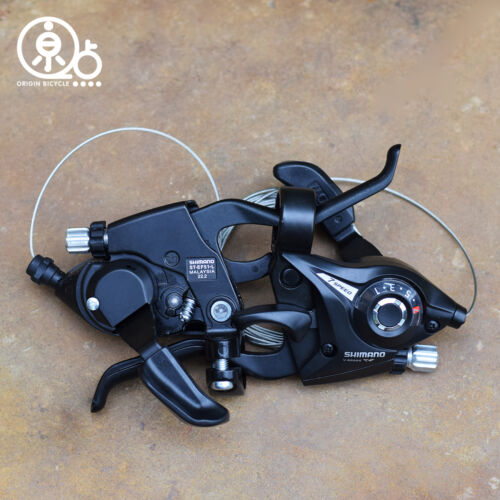 SHIMANO MTB Bike  ST-EF51-7-8  3S 7S 8 Speed Brake Shifters Levers Left Right
