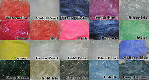Angelina Fibres - Fusable 10g - Choose From 21 Colours
