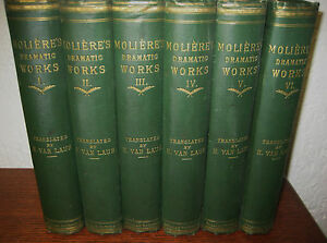 1st-Edition-DRAMATIC-WORKS-Moliere-SET-6V-CLASSIC-Misanthrope-TARTUFFE-Plays