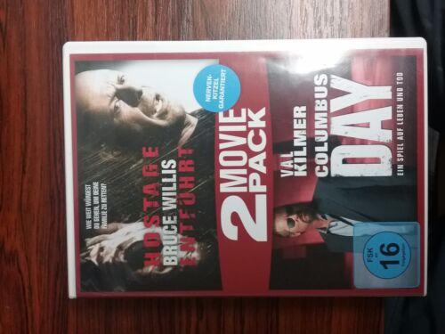 1 von 1 - Hostage - Entführt & Columbus Day - 2-DVD-NEU