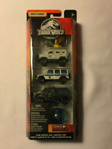 Mint in Package JURASSIC WORLD 2018 Matchbox 5-Pack Die-Cast Cars