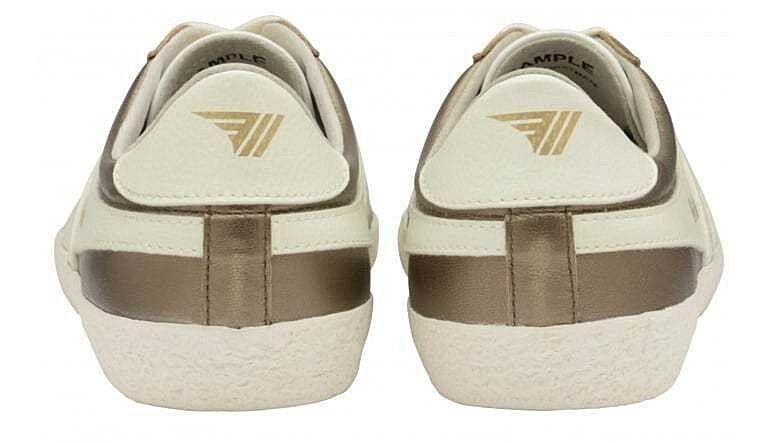 Gola Specialist classics zapatos mujer zapatos Specialist Gola Metallic oro Off blancoo CLA162 a419d1