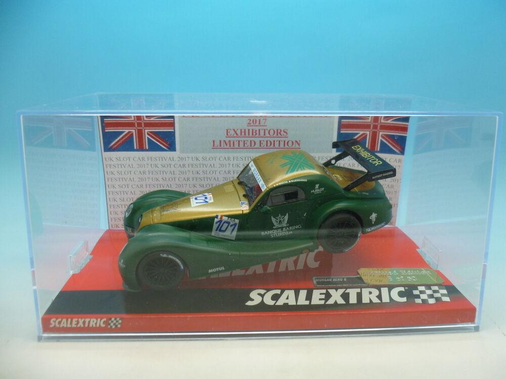 Scalextric  A10218S Morgan Aero 8 GT Martin, Reino Unido Slor coche Festival coche Li