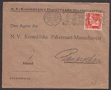 Brief 30-7-1935 van Soerabaja (machinestempel) naar Panaroekan